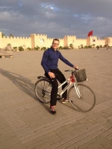 Oliver on bike