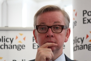Michael Gove at Policy Exchange delivering his keynote speech 'The Importance of Teaching'