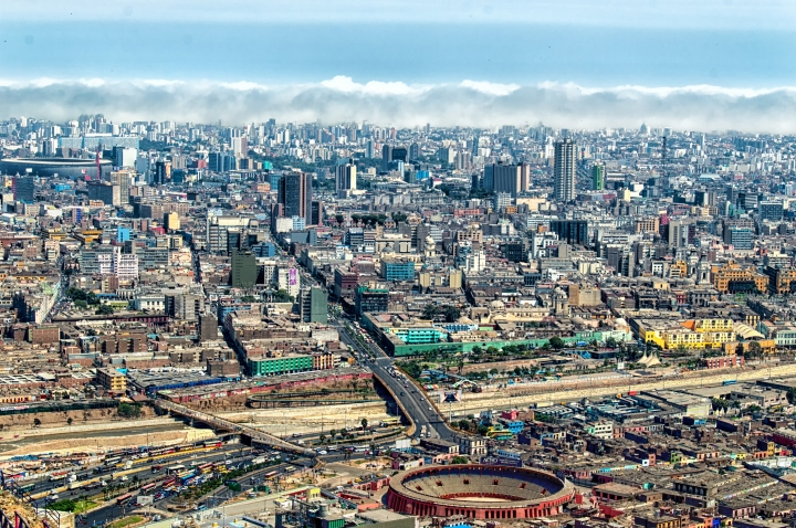 View of Lima, Peru